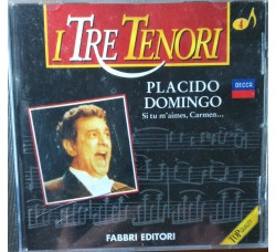I tre tenori - Placido Domingo – CD
