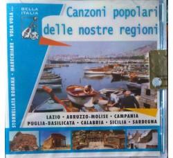 Various - Canzoni popolari delle nostre regioni – CD