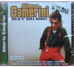 Alberto Camerini ‎– Rock'n' Roll Robot  - (CD)