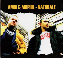 Amir & Mr. Phil ‎– Naturale - (CD)