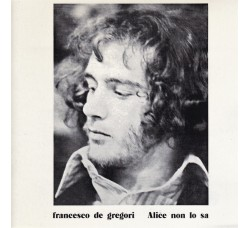 Francesco De Gregori – Alice Non Lo Sa (CD)