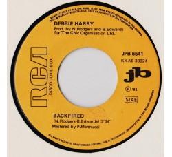 Debbie Harry* / Landscape – Backfired / Einstein A Go Go  - (Single juke box)