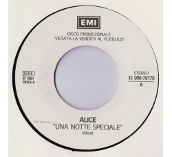 Alice (4) / Classix Nouveaux ‎– Una Notte Speciale / Guilty - (Single juke box)