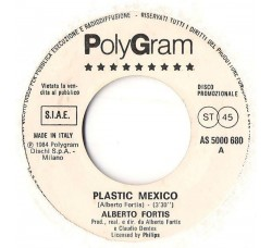 Alberto Fortis / The Style Council – Plastic Mexico / You're The Best Thing - (Single juke box)