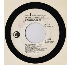 Commodores / Secret Service ‎– Reach High / Dancing In The Madness - (Single juke box)