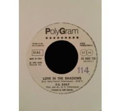E.G. Daily / Fabio Concato – Love In The Shadows / Tornando A Casa - (Single jukebox)
