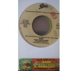 Eros Ramazzotti / Sade – Buongiorno Bambina / Your Love Is King  -  (Single jukebox)