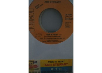 Amii Stewart / GTR (2) – Time Is Tight / When The Heart Rules The Mind -  (Single jukebox)