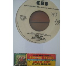 Bonnie Tyler / Adam Ant – Here She Comes / What's Going On -  (Single jukebox)