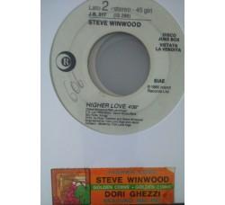 Dori Ghezzi / Steve Winwood – Nessuno Mai Più (Love You Forever) / Higher Love  -  (Single jukebox)