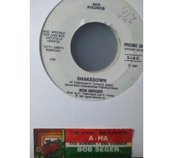 a-ha / Bob Serger* ‎– The Living Daylights / Shakedown -  (Single jukebox)