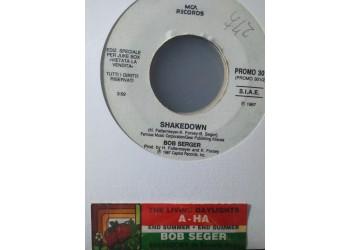 a-ha / Bob Serger* – The Living Daylights / Shakedown -  (Single jukebox)