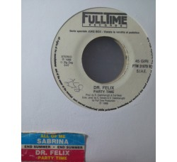 Sabrina / Dr. Felix ‎– All Of Me / Party Time – (Single jukebox)