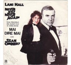 Lani Hall / Michel Legrand ‎– Never Say Never Again  - 45 RPM