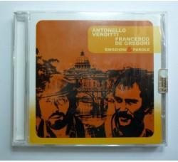 Antonello Venditti, Francesco De Gregori – Emozioni & Parole - CD
