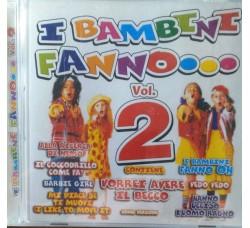 Artisti vari - I bambini fannoooo vol.2  – CD