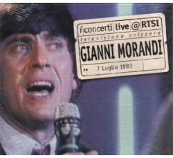 Gianni Morandi – Live @ RTSI - (CD)