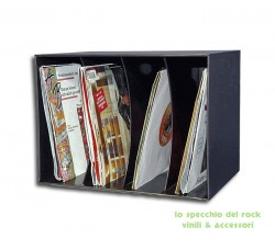 "Contenitore Box per 80 dischi 45 giri 7"" pollici"