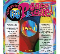 Various – Peace & Love '60 • 1967-1 – CD Compilation