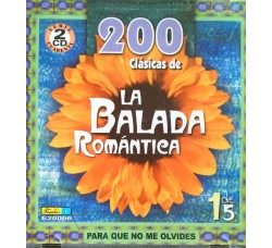 200 Clasicas de LA BALADA ROMANTICA  (CD Comp.)
