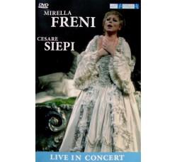 Mirella Freni, Cesare Siepi – Live In Concert - DVD