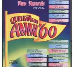 Various – Quei Favolosi Anni '60 ● 1967 - 4 – CD Compilation
