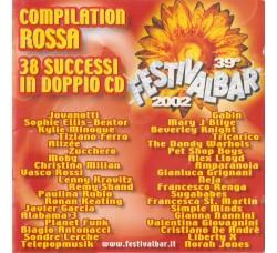 Various – 39° Festivalbar 2002 - Compilation Rossa – (CD Comp.)
