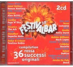 Various – 38° Festivalbar 2001 Compilation Rossa – (CD Comp.)