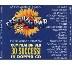 Various – 35° Festivalbar 98 - Compilation Blu - (CD Comp.)