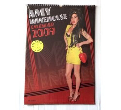 Amy Winehouse - Calendario da collezione 2009 Contiene 12 Stickers