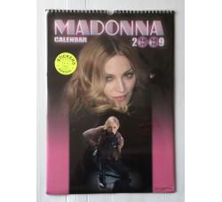 Madonna - Calendario da collezione 2009 Contiene 12 Stickers