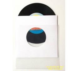 [Pz 25]  Doppie Buste - Manicotti carta Patinata + Buste PE per dischi 45 giri