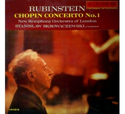 Chopin - Rubinstein, New Symphony Orchestra Of London*, Stanislaw Skrowaczewski ‎– Concerto No. 1