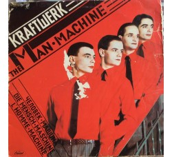 Kraftwerk ‎– The Man Machine - LP/Vinile
