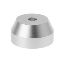 MAY RECORDS - Adattatore CONICO  per giradischi, in Alluminio per Giradischi