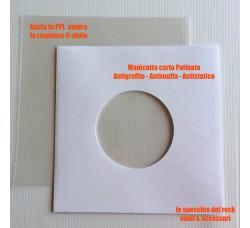 Manicotti Carta Patinata con BUSTE PPL NEUTRO dischi 45 giri - Qtà 25
