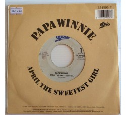 Papa Winnie ‎– April The Sweetest Girl - 45 RPM