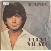 Hervé Vilard – Io Vivrò - Single 45 Giri