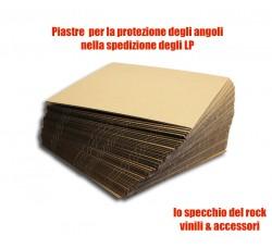 Piastre di Cartone per rinforzo spedizioni dischi Vinili - 33 Giri e 45 Giri