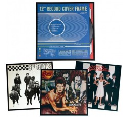 """Cornice per dischi Vinile 12"""" / LP - Colore Nero"""