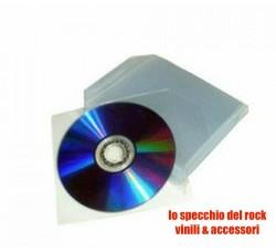 Bustine Porta CD/DVD in PPL 80 Micron - Qtà 100