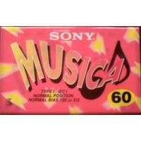 SONY C-60MSC1 - Musicassetta Position normal - Min 60 Colored rara