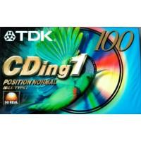 TDK -  CDing1 Musicassetta Position normal - Min 100