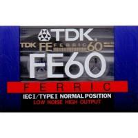 TDK - AudioCassette Musicassetta Position FERRIC  - Min 60