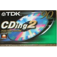 TDK -  CDing2 Musicassetta Position Chrome - min 90