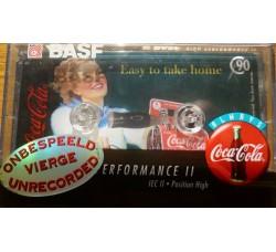 BASF - Collezione COCA COLA - Nastro Position normal - Min 90  - Anno 1995