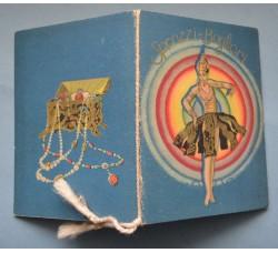 Almanacco profumato SPRAZZI e BAGLIORI 1930 calendarietto N. De Francesco Catania