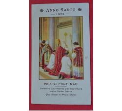 ANNO SANTO 1925 Pius XI Porta Santa -santino