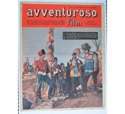 AVVENTUROSO FILM n.81-1951 rivista di Fotoromanzi e Sport - vedi le foto