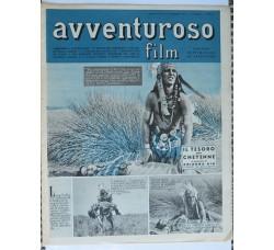 AVVENTUROSO FILM n.32-1950 rivista di Fotoromanzi e Sport - ciclismo - vedi le foto